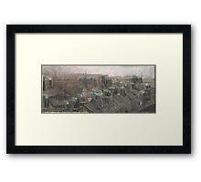 Altered, Autumn of Terror Framed Print