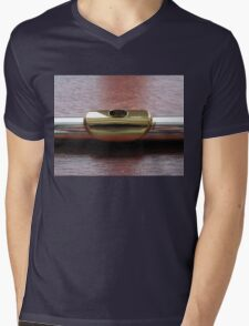 Lipping it Up - Gold Plated Embouchure Plate Mens V-Neck T-Shirt