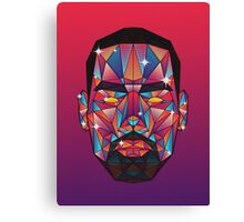 LeBron (centered) Canvas Print
