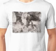 Wolfman Dog Walker ( 2) Unisex T-Shirt