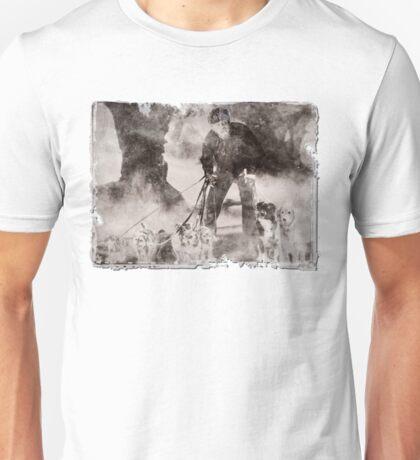 Wolfman Dog Walker ( 2) Unisex T-Shirt