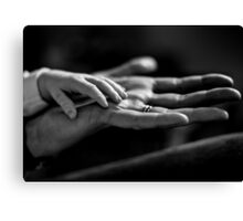 Hand In Hand Canvas Print