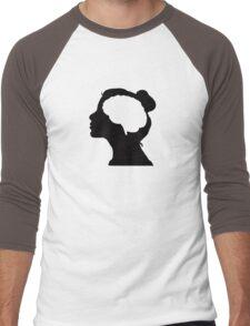 Migraine Awareness Men's Baseball ¾ T-Shirt