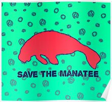 Save the Manatee Poster