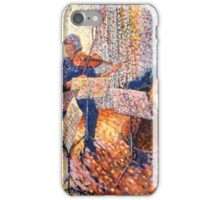 String quintet in the afternoon iPhone Case/Skin