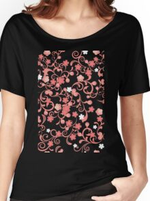 Abstract Cherry Blossoms Women's Relaxed Fit T-Shirt