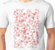 Abstract Cherry Blossoms Unisex T-Shirt