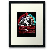 dicks out for harambe Framed Print