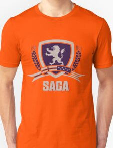 SAGA Official Merchandise BLACK Unisex T-Shirt