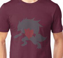 Simplistic Zorua evolution line Unisex T-Shirt