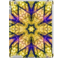 Multicoloured Psychedelic Flowers iPad Case/Skin