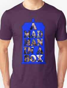A mad man in a box Unisex T-Shirt
