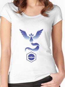 Pokemon Go! Team Mystic!!! Women's Fitted Scoop T-Shirt