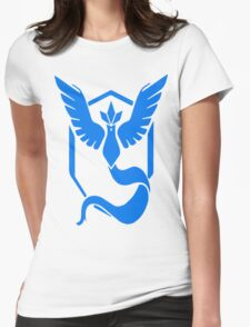 Pokemon Go! Team Mystic!!! Womens Fitted T-Shirt
