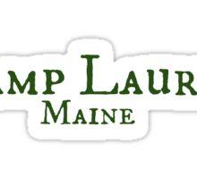Camp Laurel Sticker