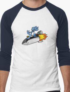 Rocket Fizz Men's Baseball ¾ T-Shirt
