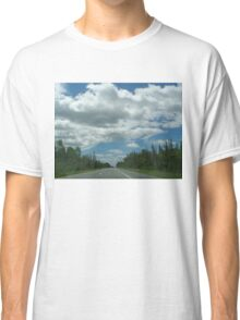 On the Road in the Mountains Classic T-Shirt