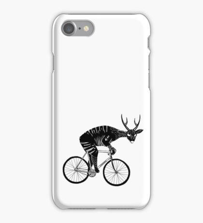 Deer & Bicycle iPhone Case/Skin