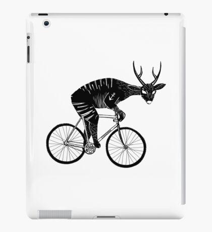 Deer & Bicycle iPad Case/Skin