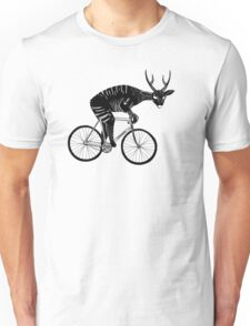 Deer & Bicycle Unisex T-Shirt