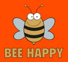 Bee Happy by DesignFactoryD