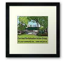 It's your community too  Framed Print