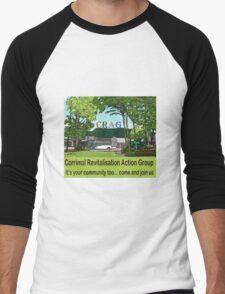 It's your community too  Men's Baseball ¾ T-Shirt