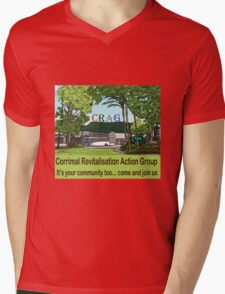 It's your community too  Mens V-Neck T-Shirt