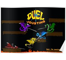 Duel Jousting Game Poster #1 Poster