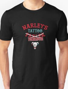 Harley's Tattoo Parlor. Hi Puddin Unisex T-Shirt