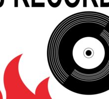 Rescue My PJ Records Sticker
