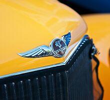 1934 Pontiac 8 Touring Sedan Emblem by DaveKoontz