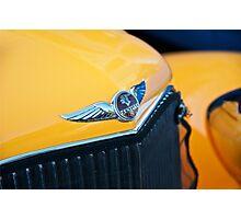 1934 Pontiac 8 Touring Sedan Emblem Photographic Print