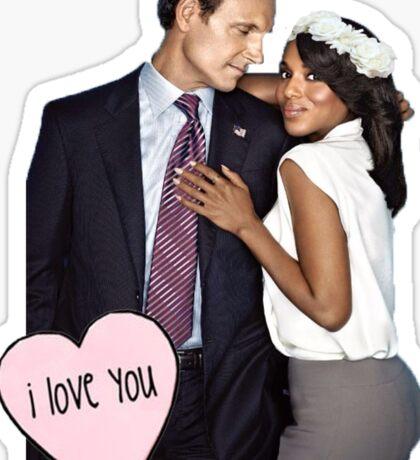 "Olitz ""I Love You"" Sticker"
