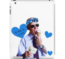 Joe Biden Eating Ice Cream iPad Case/Skin