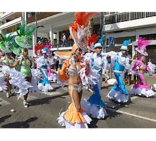 Colourful carnival in Lanzarote Photographic Print