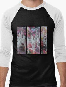 Hydrangea Abstract Men's Baseball ¾ T-Shirt