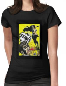 Bad Girls of Motion Pictures #3 (of 9)- Varla Womens Fitted T-Shirt