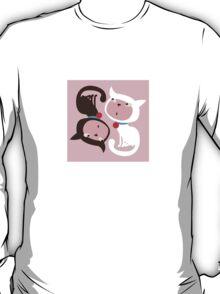 Yin Yang Kitties. T-Shirt