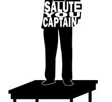 I Salute You Captain by lagmanart