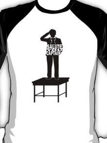 I Salute You Captain T-Shirt