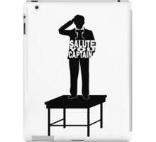 I Salute You Captain iPad Case/Skin