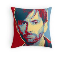 HARDY - RedYellowBlue (Broadchurch) Throw Pillow