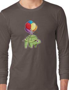 Turtle - Balloon Fun Long Sleeve T-Shirt