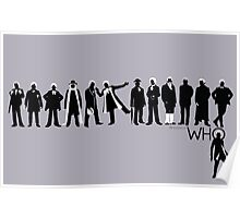 The Evolution of Who Poster