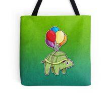 Turtle - Balloon Fun Tote Bag