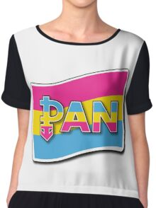 Pansexual Pride Chiffon Top