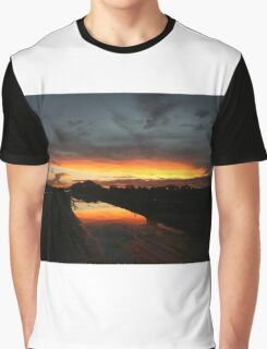 Fire in the sky 3 Graphic T-Shirt
