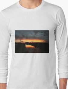 Fire in the sky 3 Long Sleeve T-Shirt