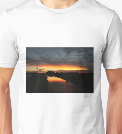 Fire in the sky 3 Unisex T-Shirt